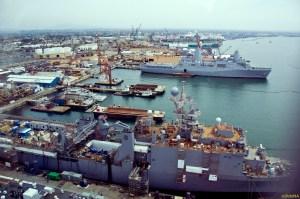 San Diego harbour